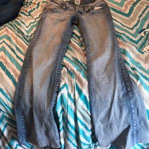 Light boot cut jeans